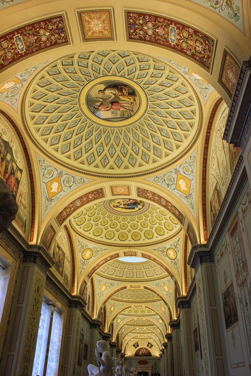 Que ver en San Petersburgo - Techos Hermitage