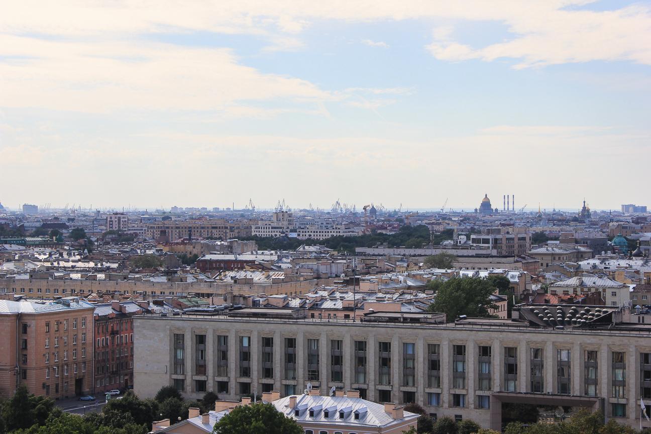 Que ver en San Petersburgo - Vistas desde Smolny