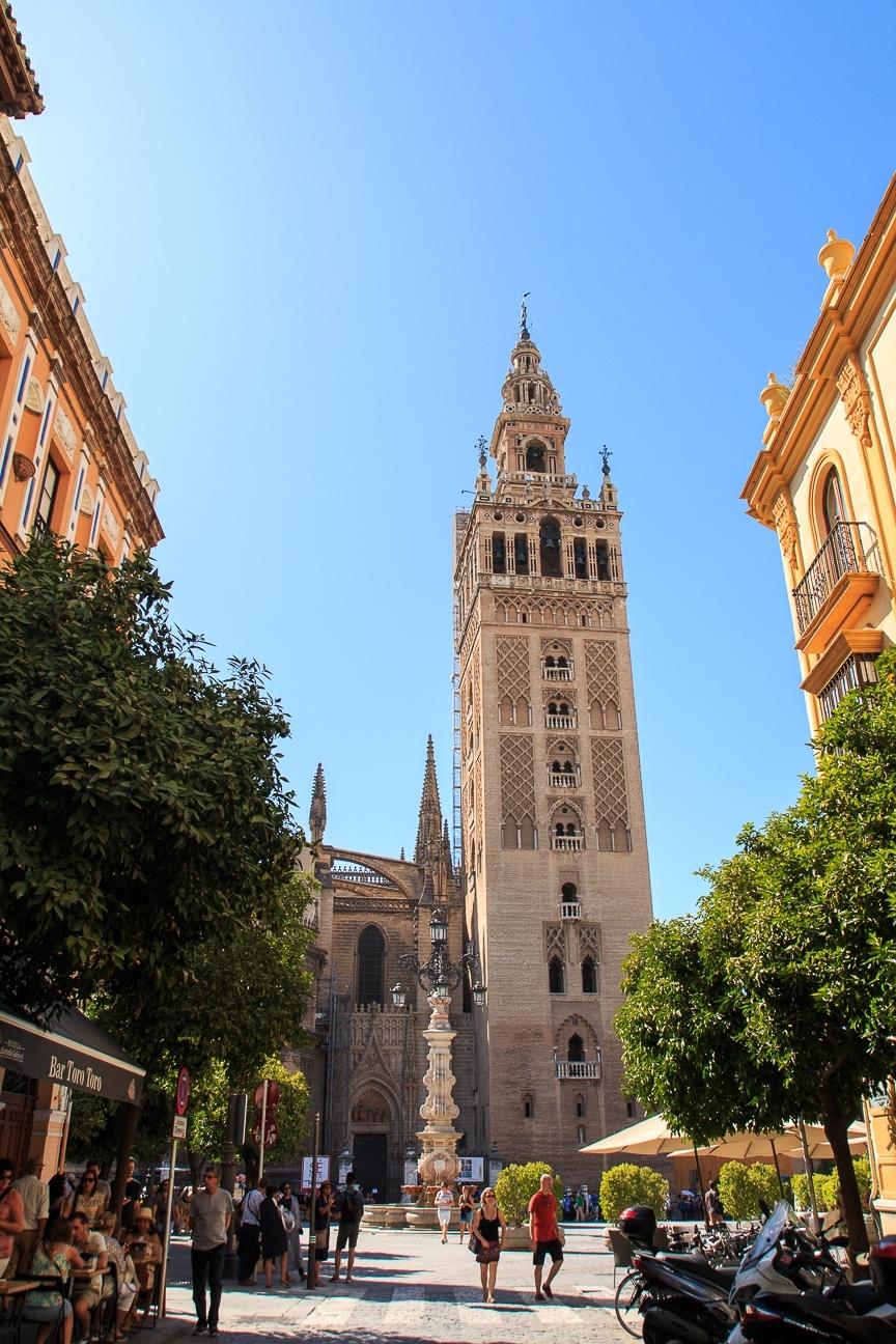 Que ver en Sevilla - la Giralda