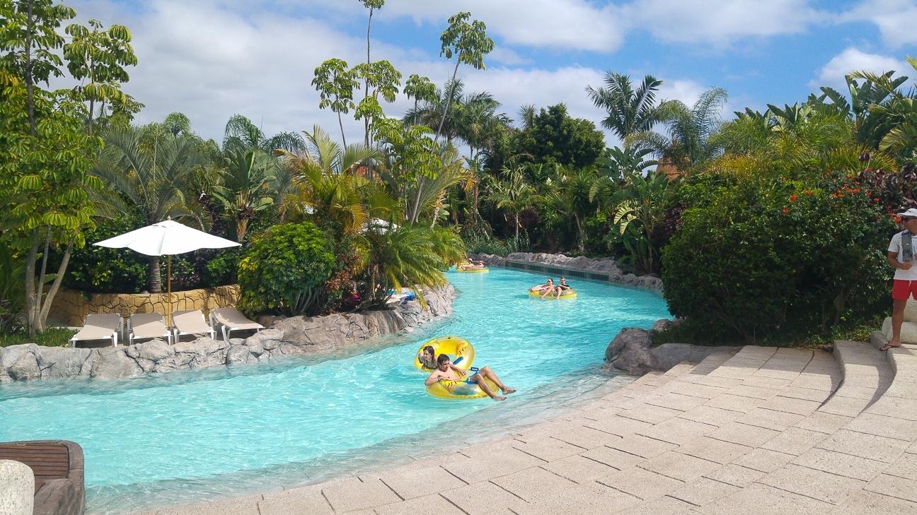 Que ver en Tenerife - Relax en el mai thai river de Siam Park