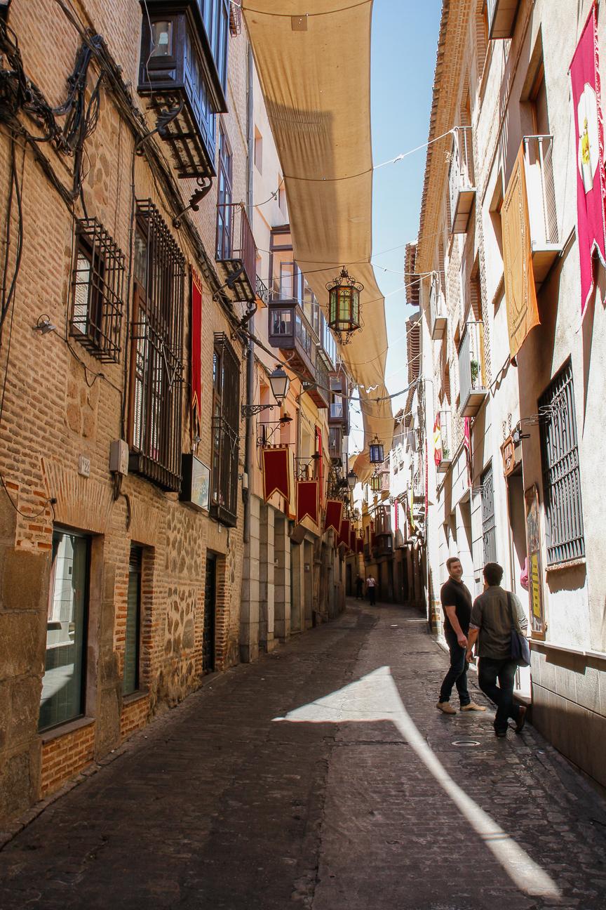 Que ver en Toledo - Calles empinadas