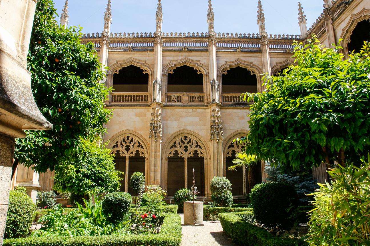 Que ver en Toledo - claustro monasterio