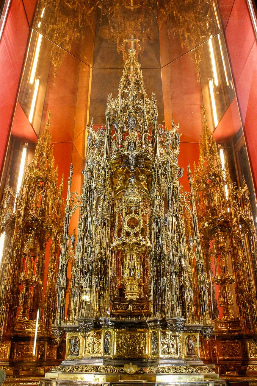 Que ver en Toledo - corpus cristi