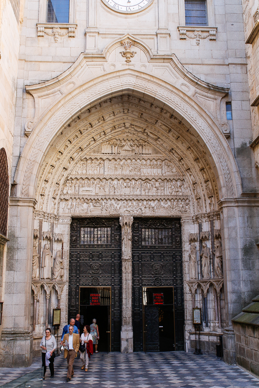 Que ver en Toledo - Entrada a la Catedral
