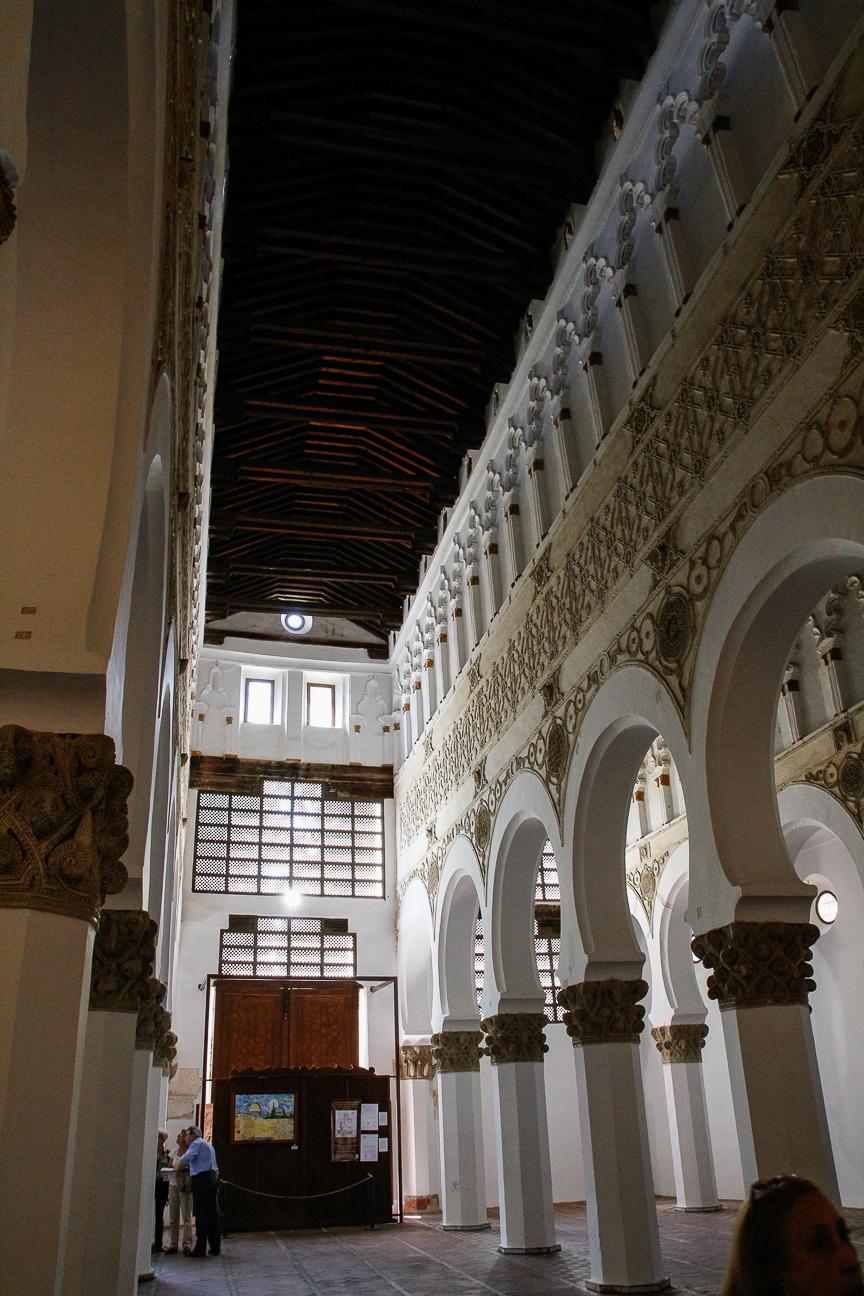 Que ver en Toledo - Sinagoga de Santa Maria la Blanca