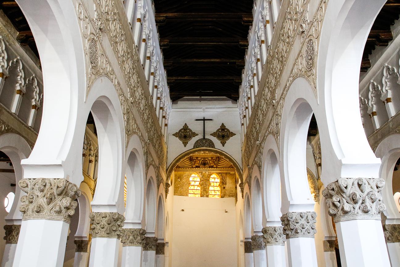 Que ver en Toledo - Sinagoga mayor de Santa Maria la Blanca