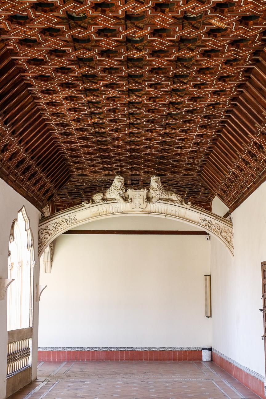 Que ver en Toledo - Techado de madera Isabel y Fernando