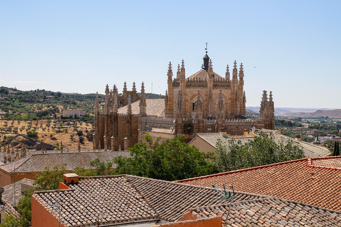 Que ver en Toledo - Tejados y catedral
