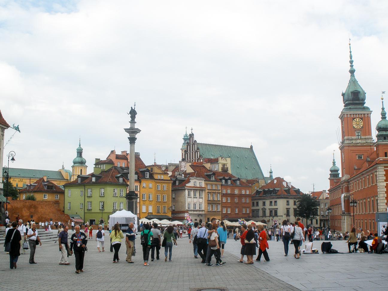 Que ver en Varsovia ciudad vieja