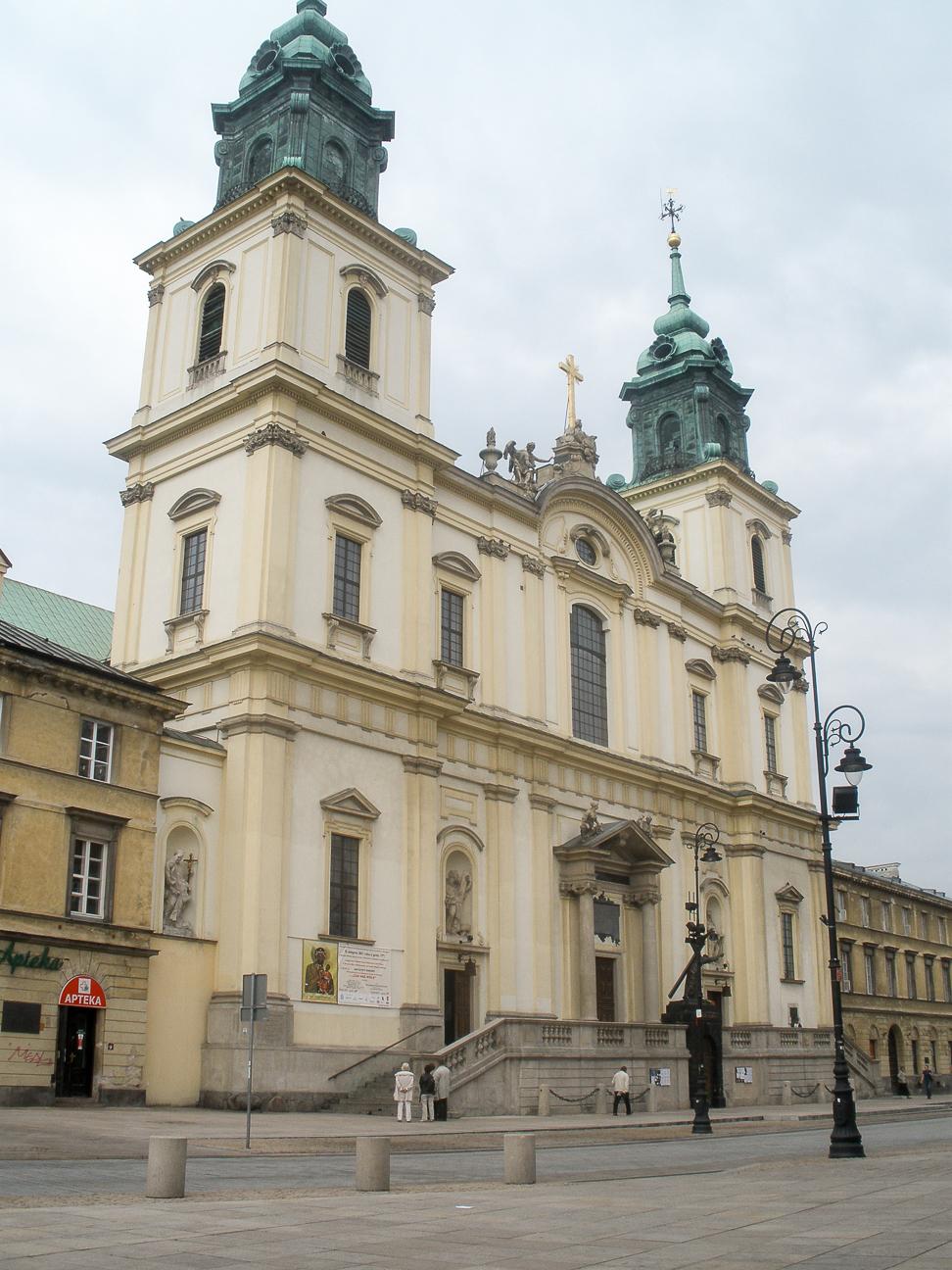 Que ver en Varsovia Iglesia del espiritu Santo
