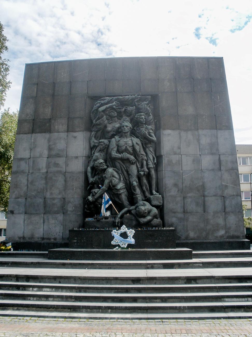 Que ver en Varsovia monumento judios