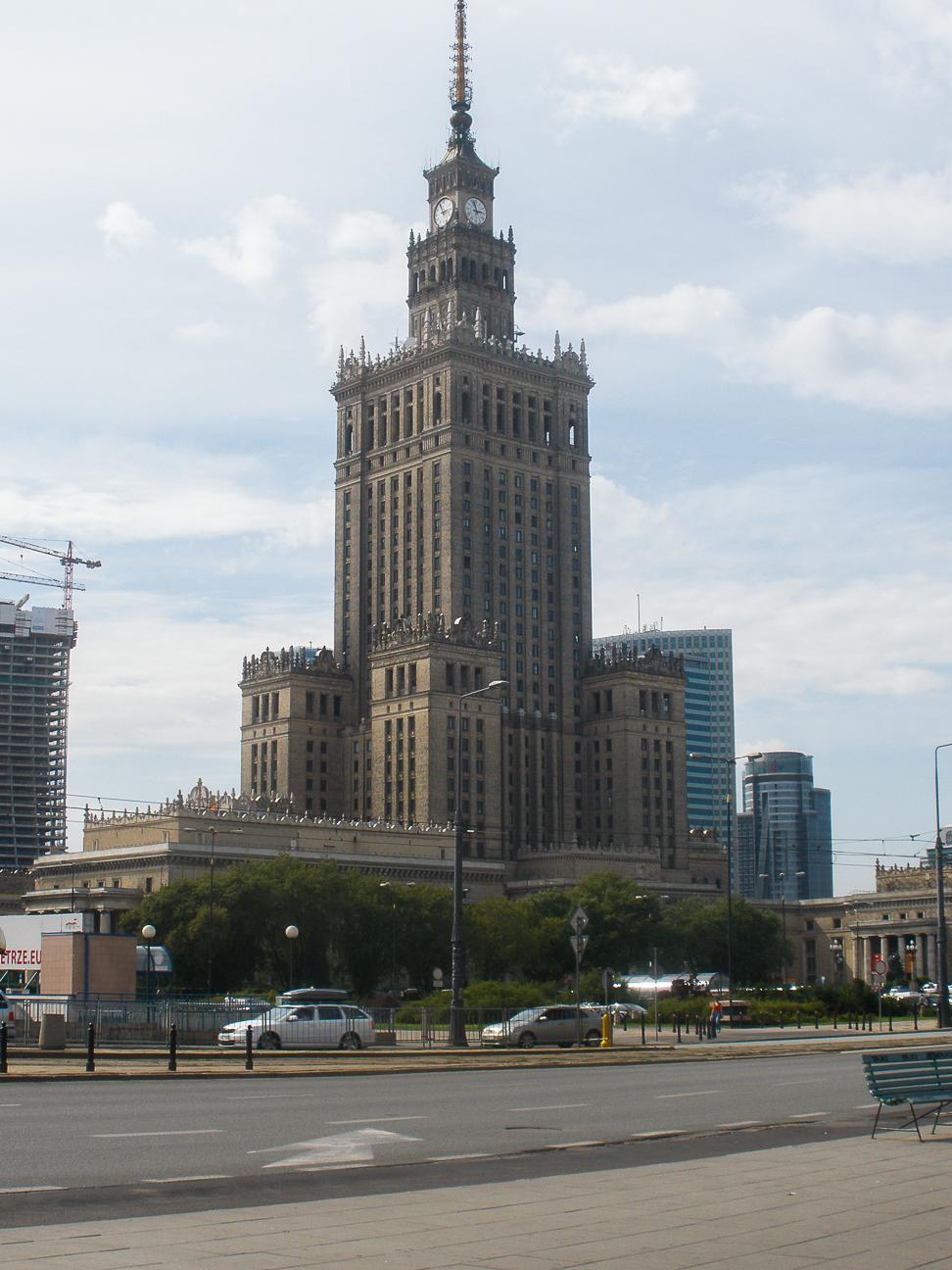 Que ver en Varsovia Palacio de la cultura y la ciencia