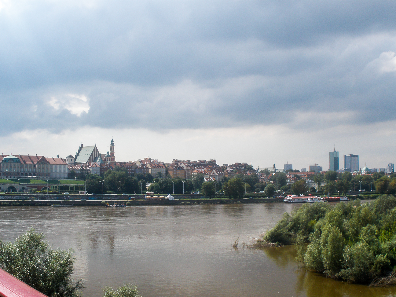 Que ver en Varsovia Rio vistula