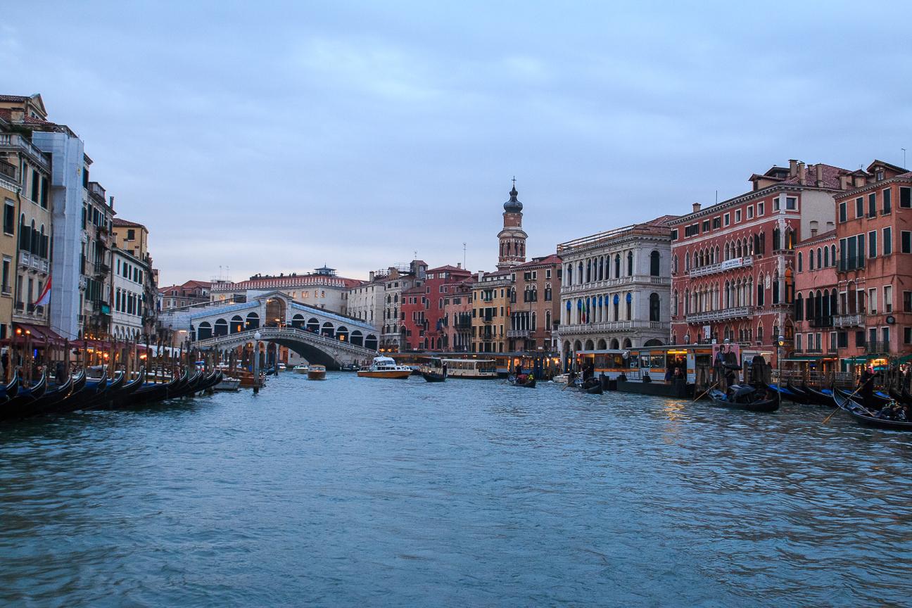 Que ver en Venecia - Gran Canal de Venecia