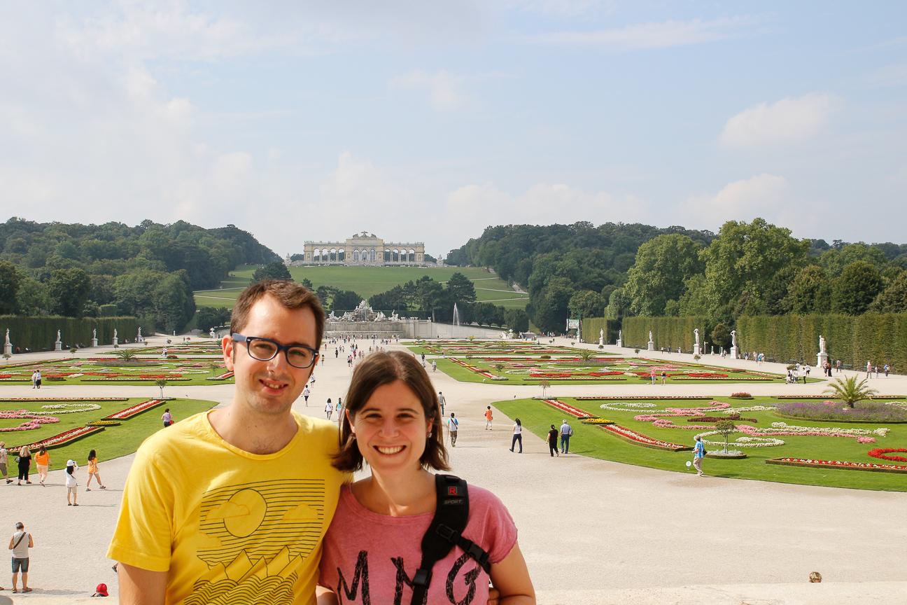 Que ver en Viena - Jardines Schonbrunn