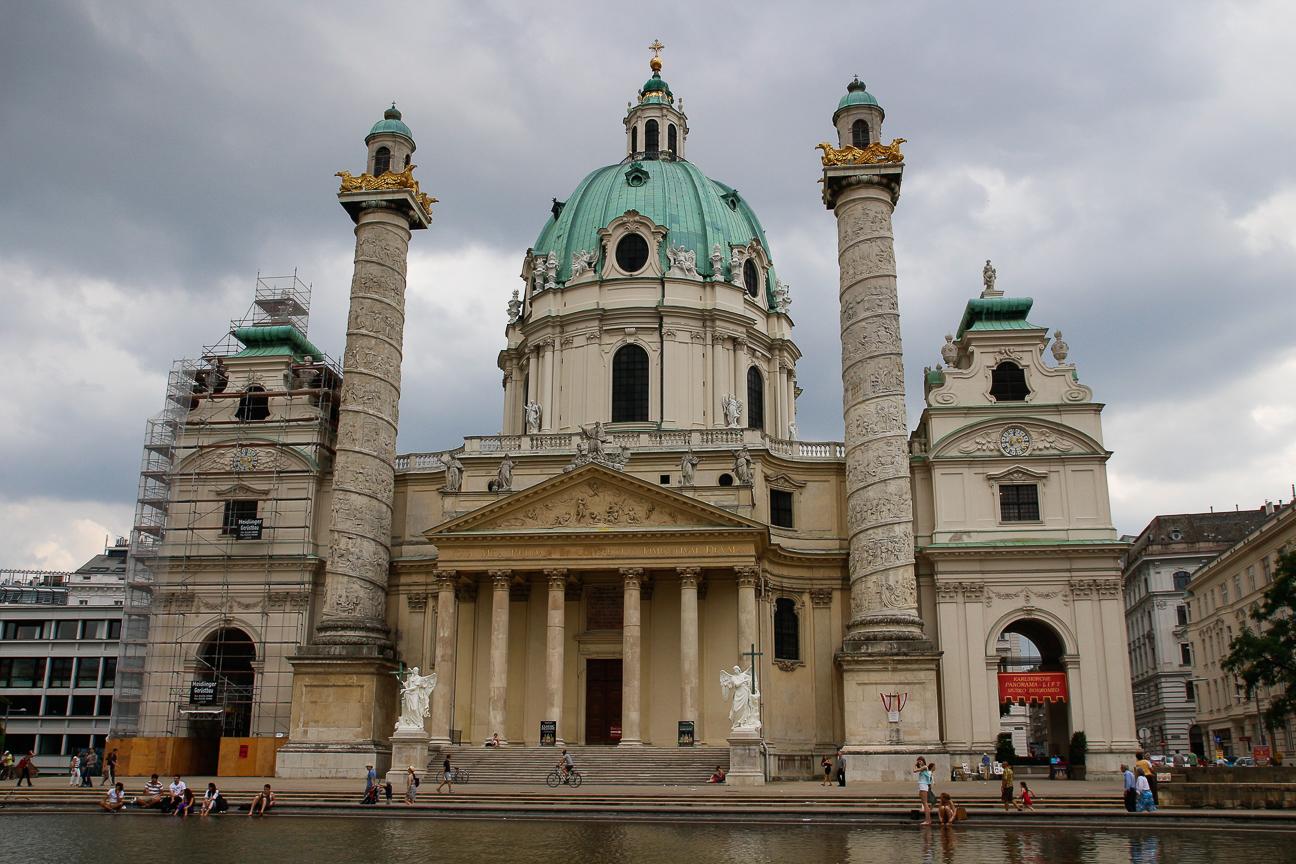 Que ver en Viena - Karlskirche