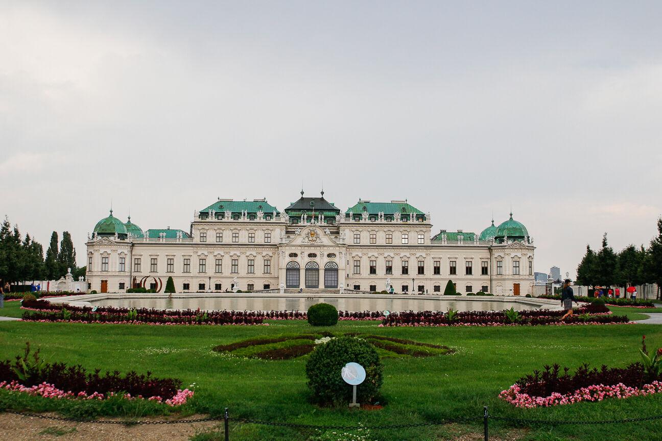 Que ver en Viena - Palacio Belvedere