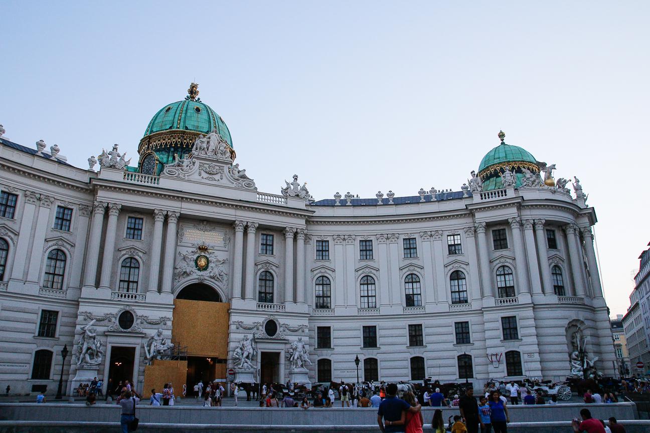 Que ver en Viena - Palacio Hofburg
