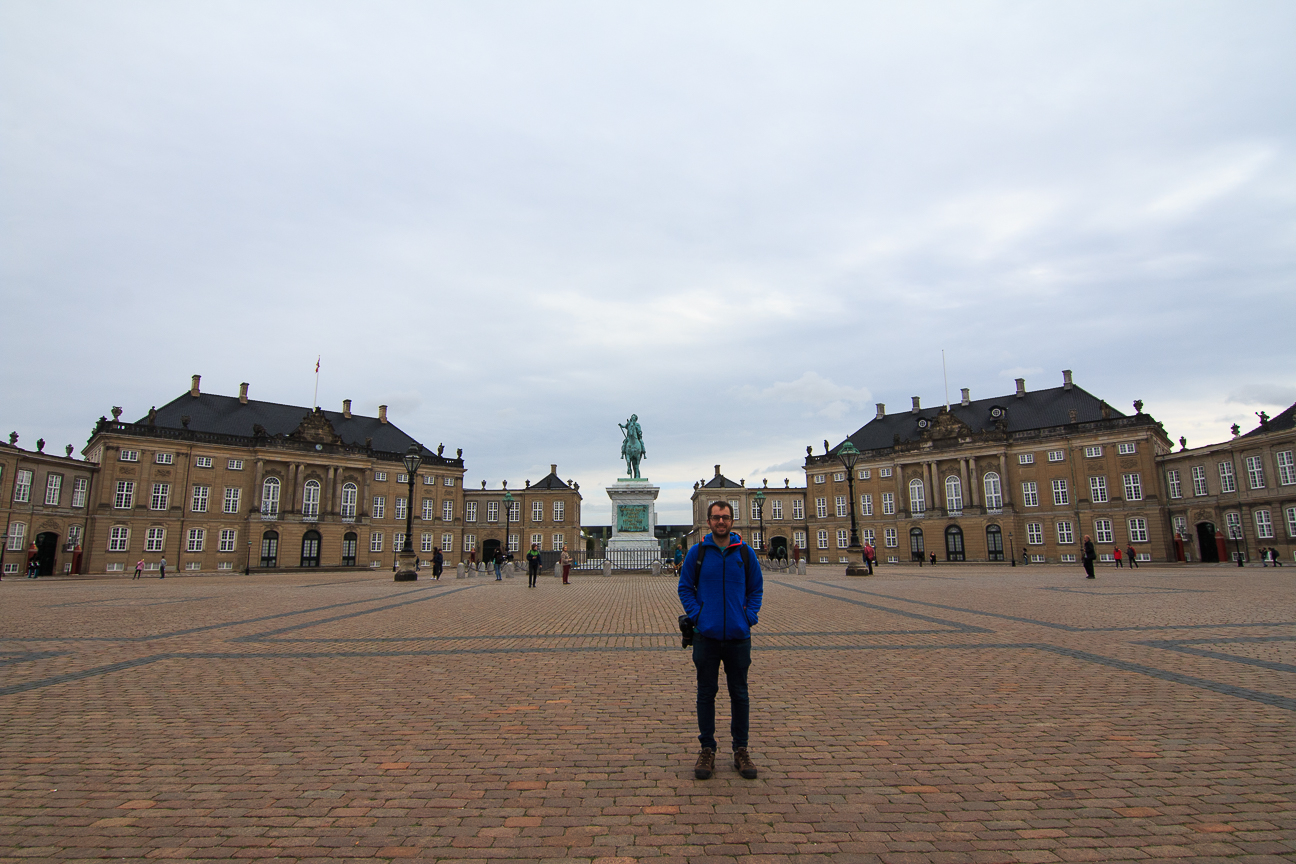 Que visitar en Copenhague Amalienborg