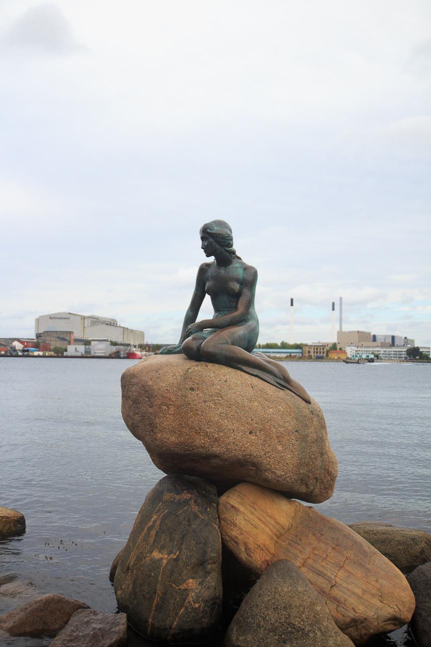 Que visitar en Copenhague la sirenita