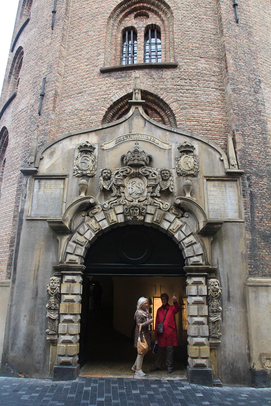 Que visitar en Copenhague la torre redonda