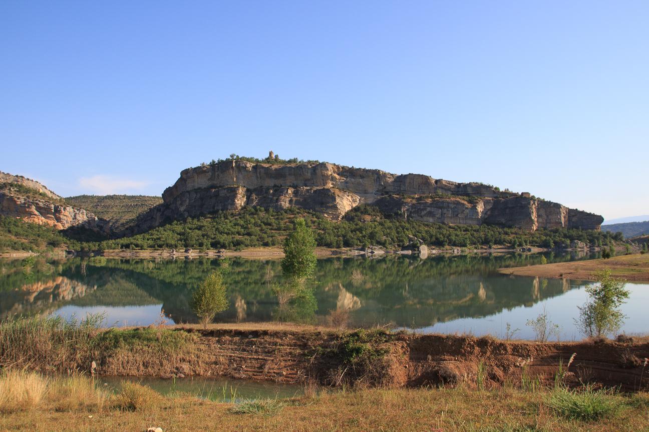 Reflejos en Mont Rebei