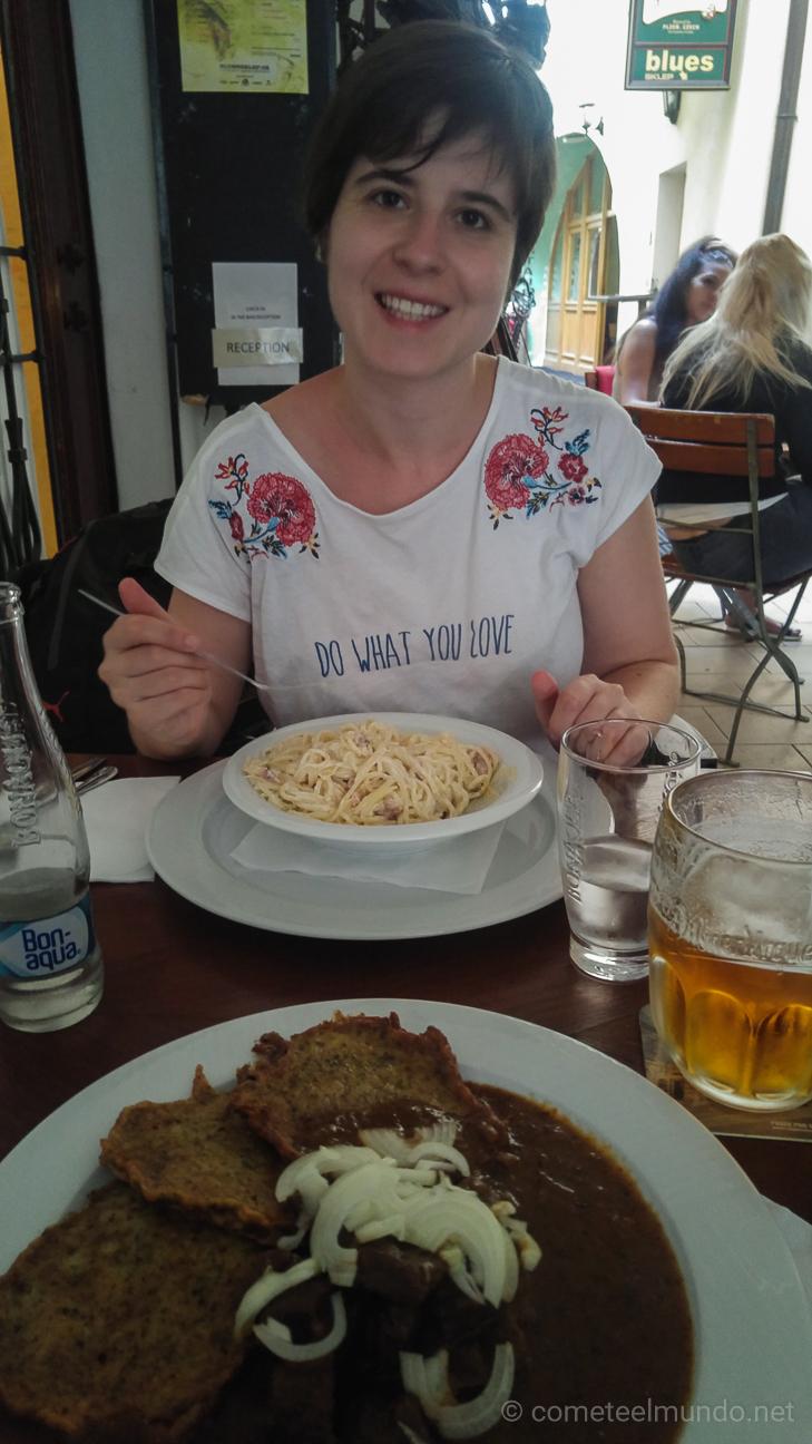 Restaurante barato en Praga