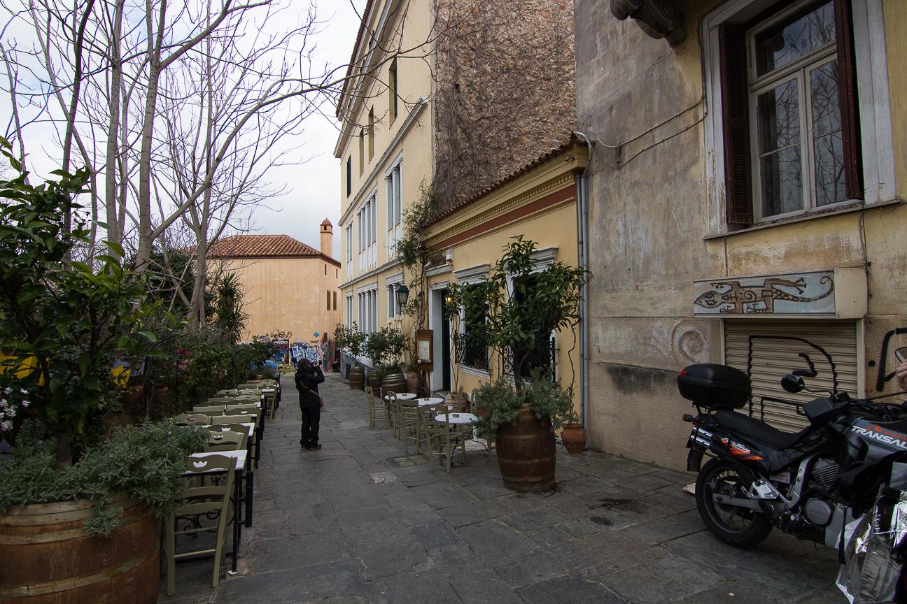 Restaurante To Kafeneio en Anafiotika
