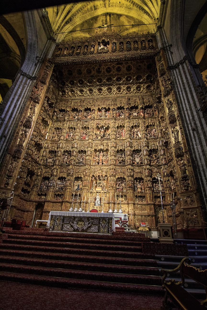 Retablo de la Catedral de Sevilla