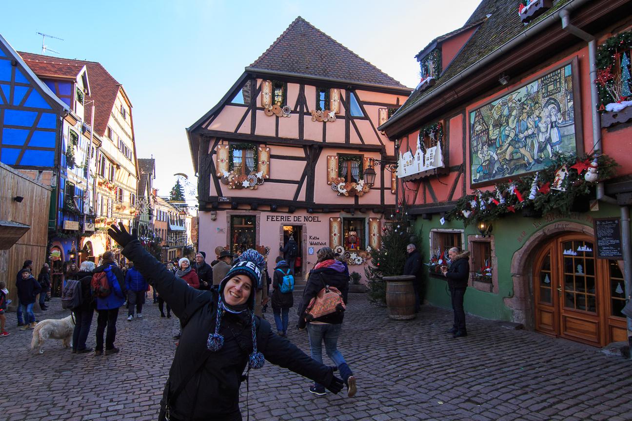 Riquewihr y su tienda de Navidad