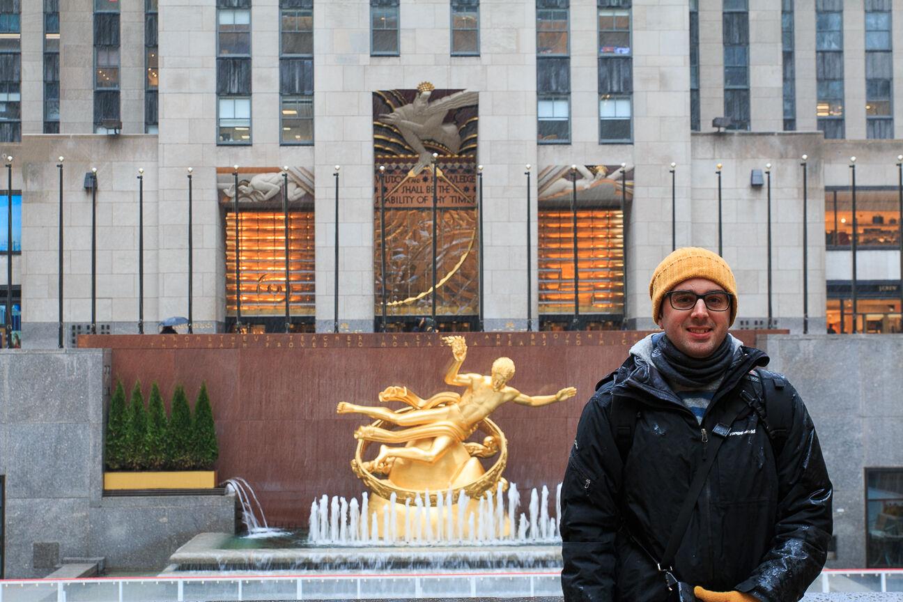Rockefeller Square en Nueva York