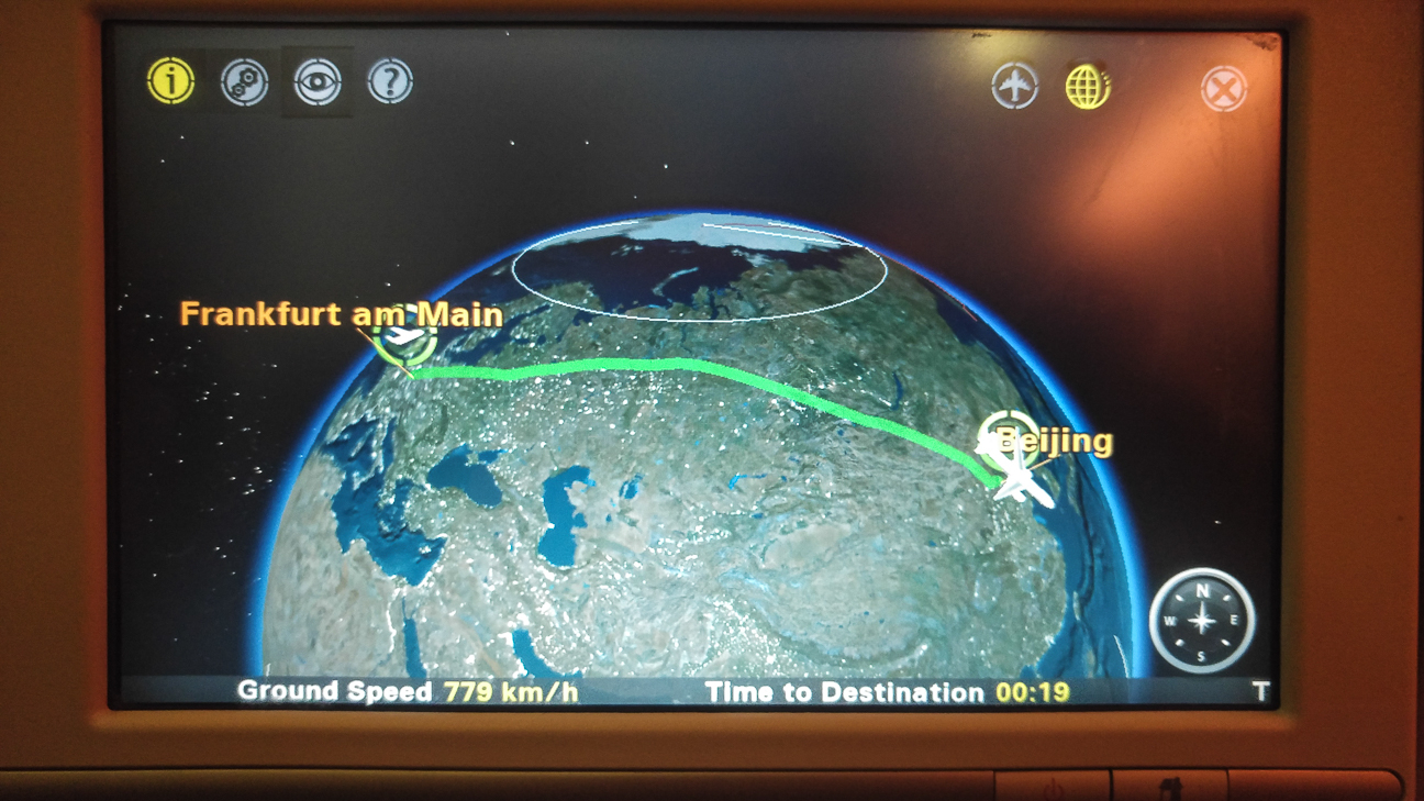 Ruta vuelo largo