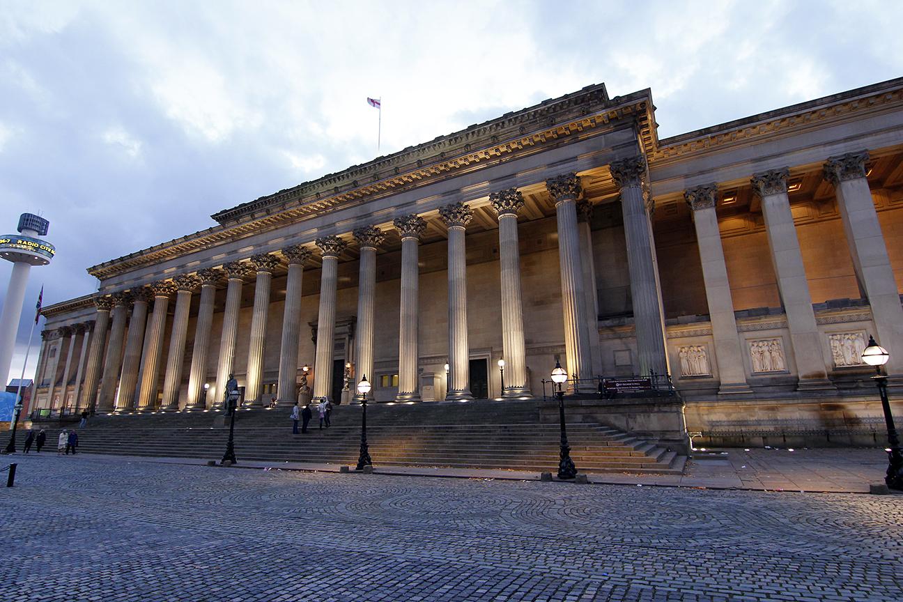 Saint George Hall en Liverpool