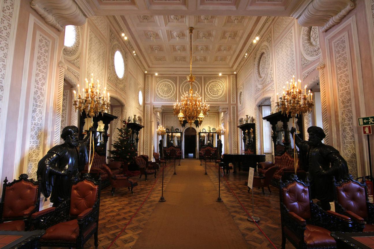 Salon del Palacio da Pena en Sintra