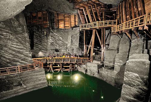 Cámara minas de sal - Wielicka