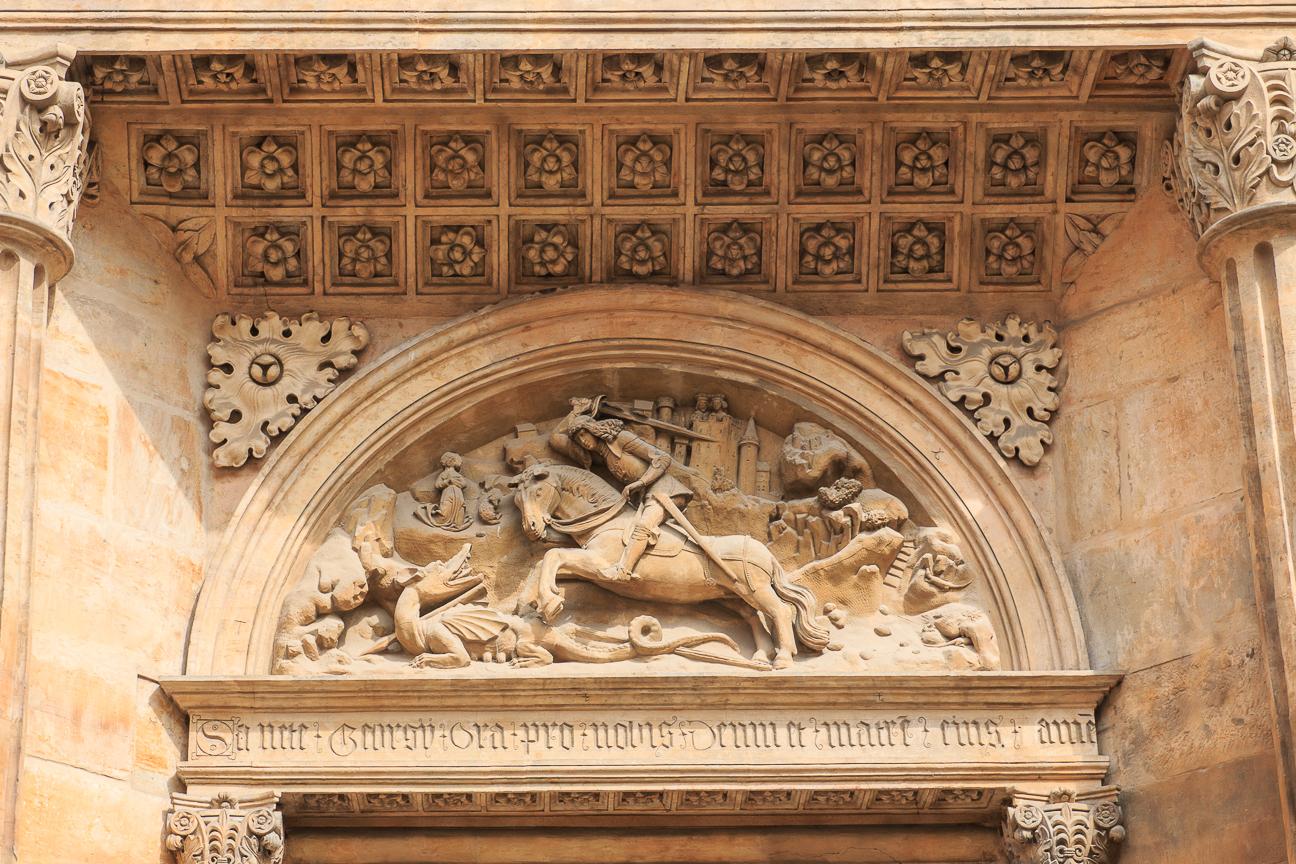 San Jorge en el Castillo de Praga