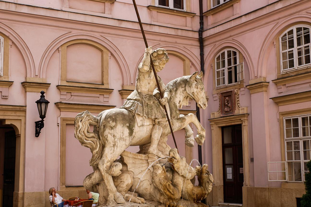 San Jorge en Palacio del Primado Bratislava