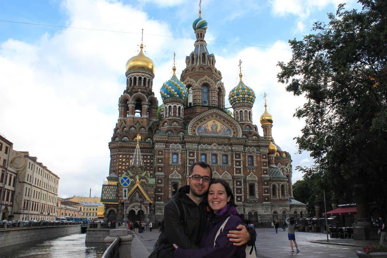 Sangre derramada San Petersburgo