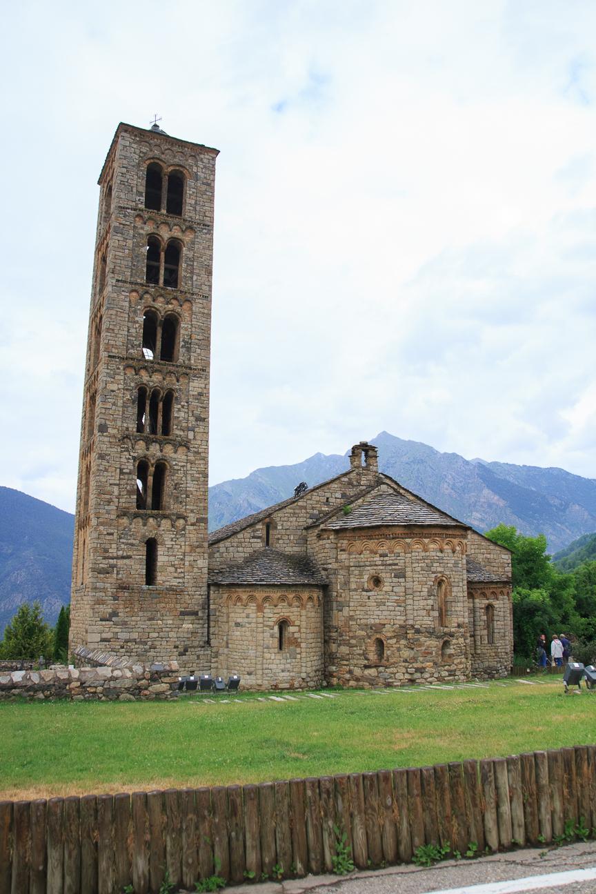 Iglesia romanica de Sant Climent de Taull