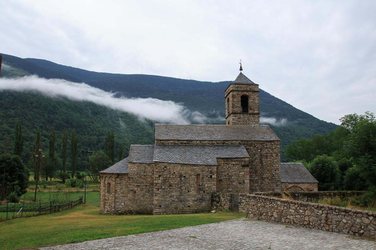 Iglesia romanica de Sant Feliu de Barruera