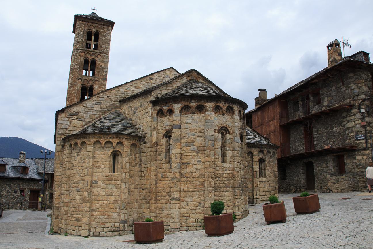 Santa Maria de Taull en la Vall de Boi