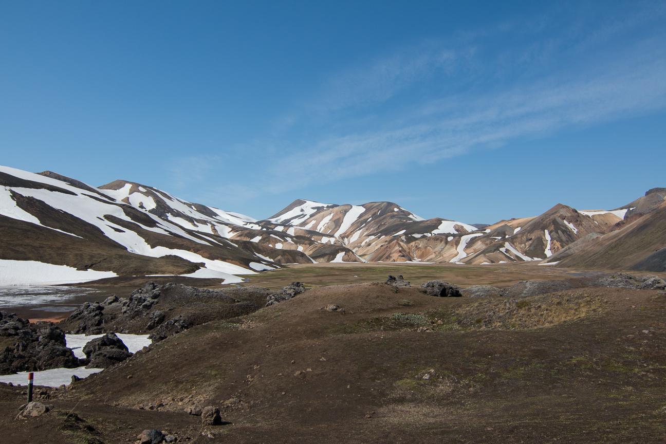 Sierra en Landmannalaugar