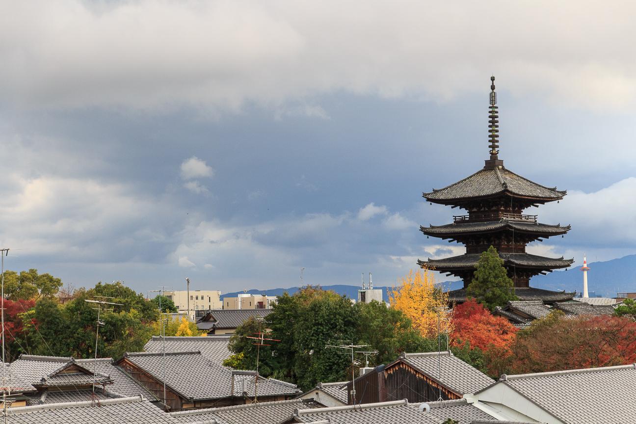 Skyline de Kyoto