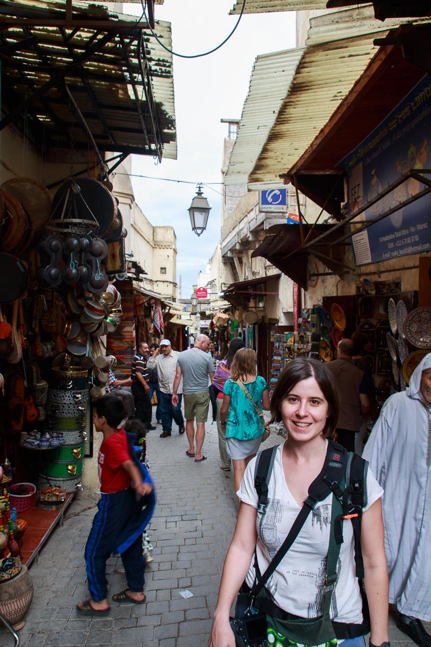 Talaa Kbira en la medina de Fez