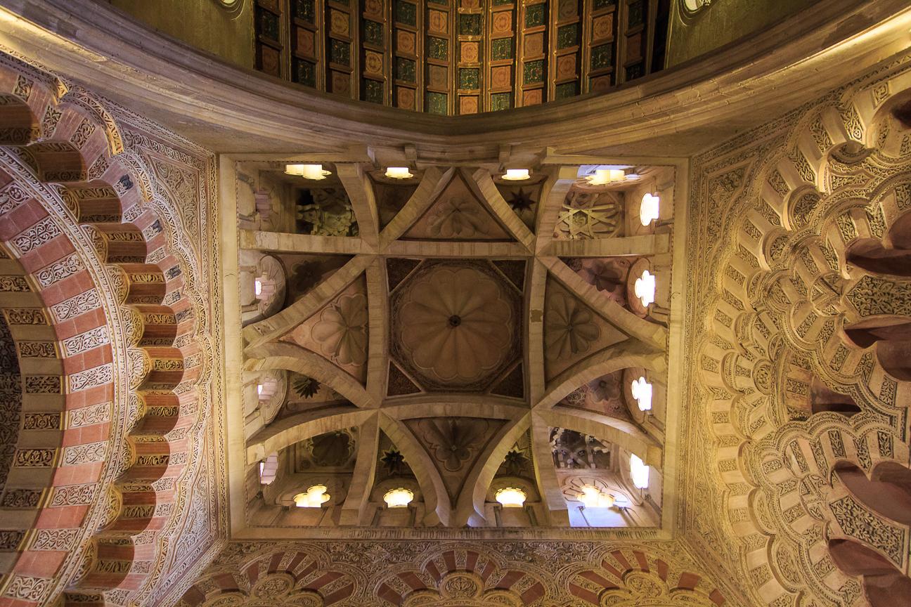 Techos de la mezquita de Cordoba