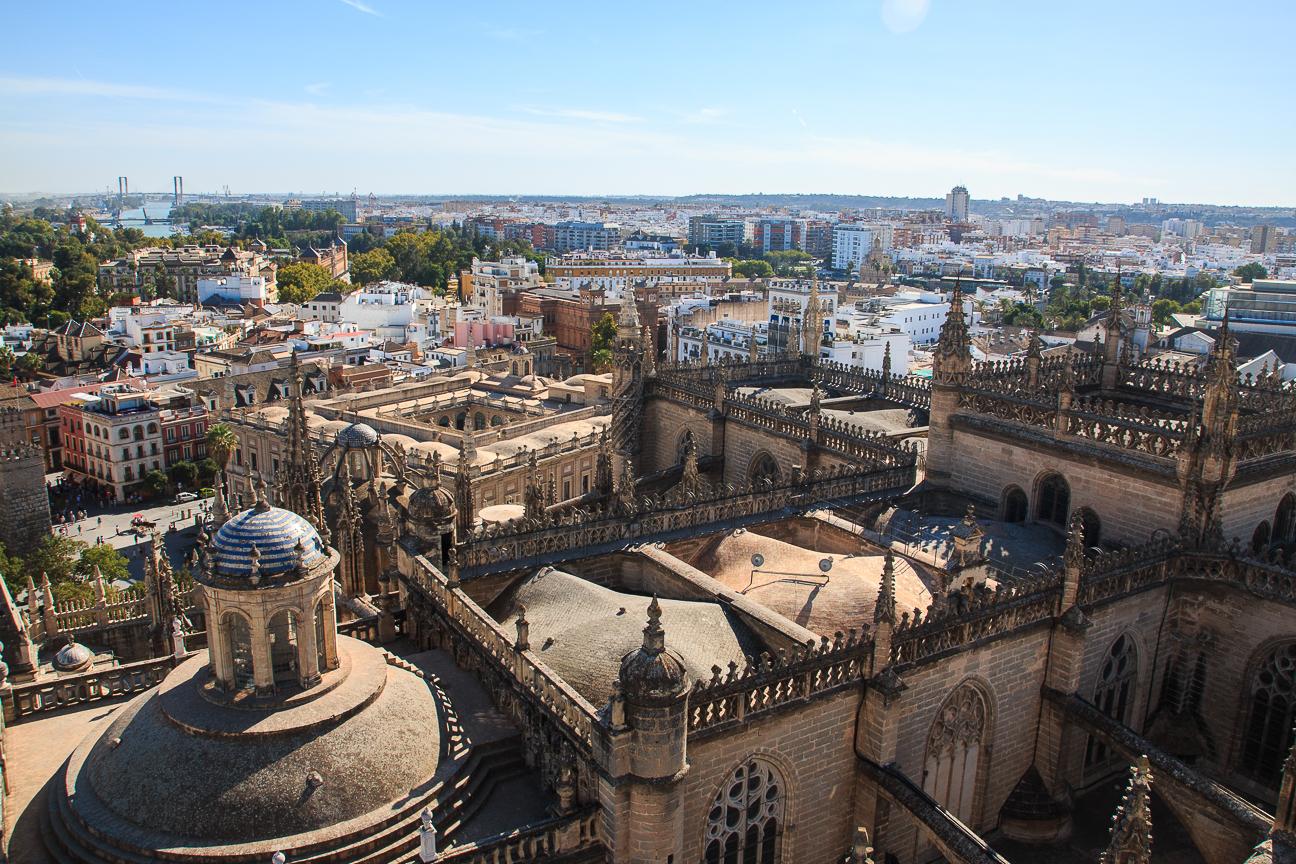 Tejados de la Catedral de Sevilla