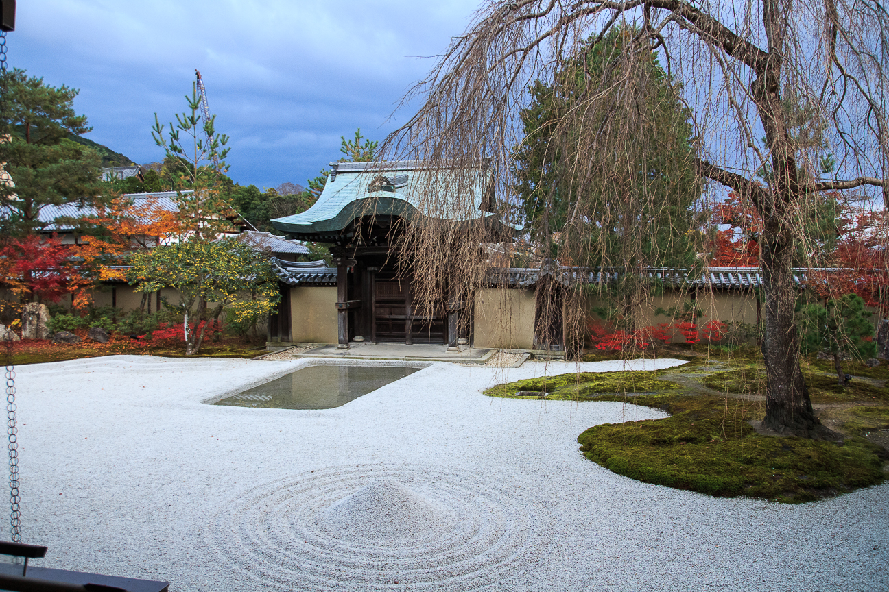 Templo zen en Kyoto Japon