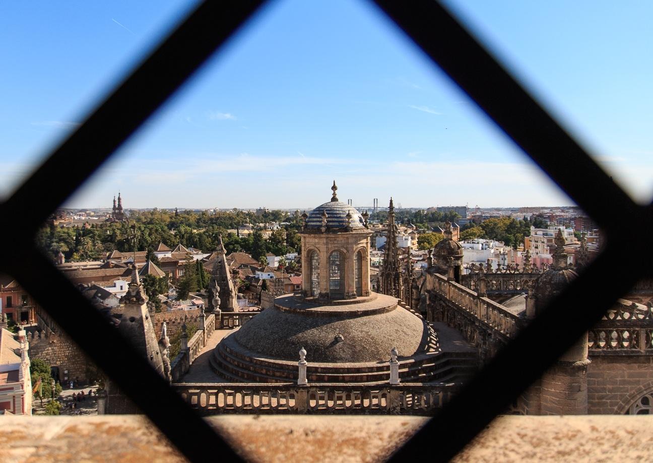 Terrazas de la Catedral de Sevilla