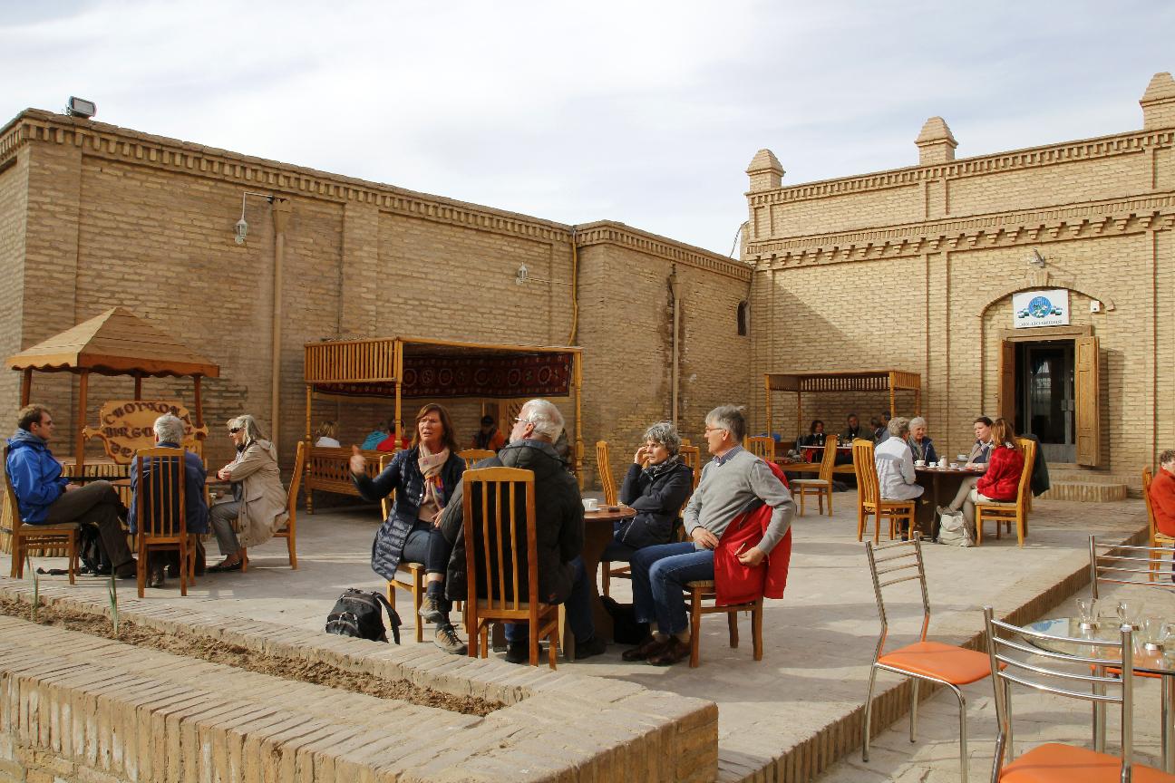 Teteria en Khiva