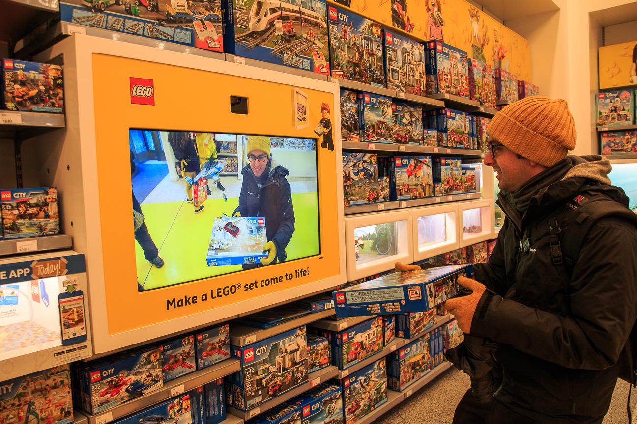 Tienda de LEGO en Nueva York